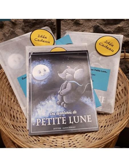 Idée cadeau : livre pour enfant Les aventures de Petite Lune.