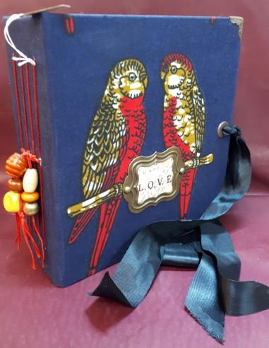 Séraphin travel diary. Handmade pocket travel diary.