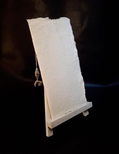 Cahier vierge en papier recyclé Perle...