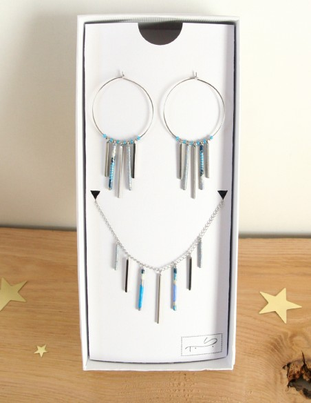 Organ of the sky set - Paper & Stainless steel
