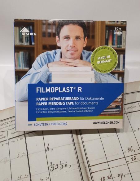 Filmoplast® R transparent thermo-adhésif.